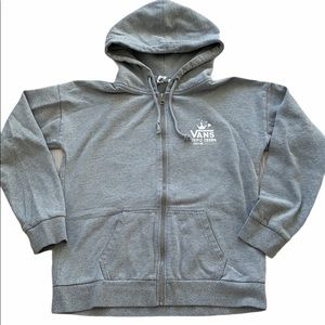 3/$30 Vans Full Zip Hooded Sweatshirt Size Medium